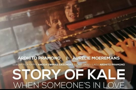 "Ardhito Pramono & Aurelie Moeremans rilis lagu tema ""Story of Kale"""