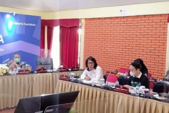 Komisi B DPRD DKI bahas APBD Perubahan 2020 di Puncak