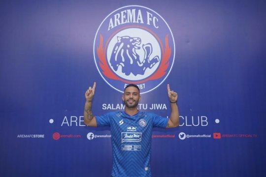 Bruno Smith resmi berkostum Arema FC