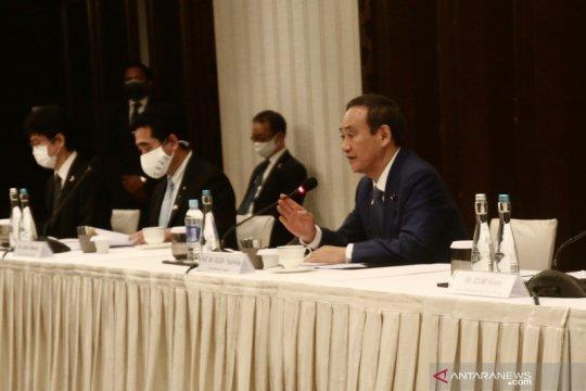 PM Suga tuai kritik usai makan malam akhir tahun di tengah wabah