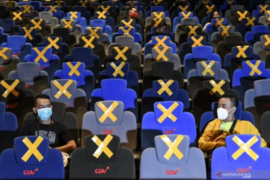 Anies izinkan bioskop beroperasi dengan kapasitas 50 persen