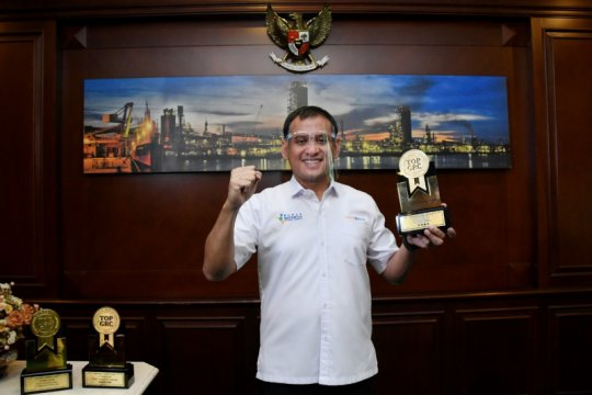 """Dirut Pupuk Kaltim dinobatkan sebagai """"The Most Commited GRC Leader"""""""