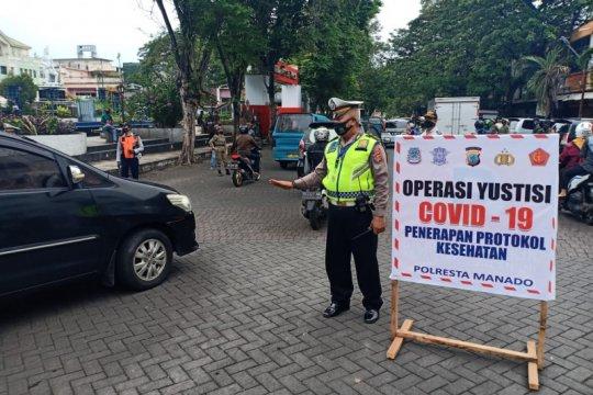 Kapolresta Manado imbau masyarakat patuhi protokol kesehatan COVID-19