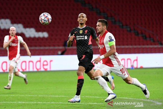 Klopp sebut sapuan penting Fabinho cerminan kerja keras Liverpool