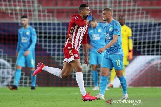 Olympiakos petik kemenangan dramatis 1-0 lawan Marseille