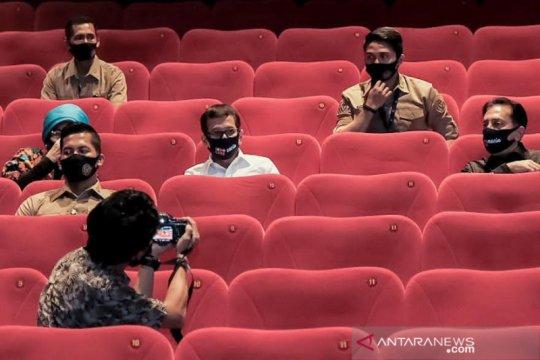 Menparekraf imbau pengelola bioskop ketat terapkan protokol kesehatan