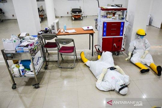 95 persen tenaga kesehatan yang tertular COVID-19 di Riau sudah sembuh