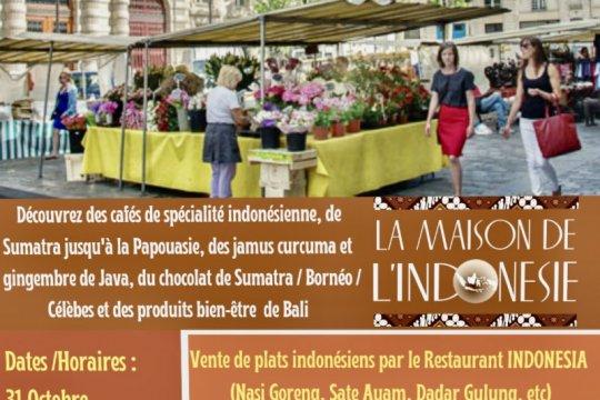 Indonesia promosi jamu, kopi, hingga nasi goreng di Paris