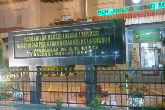 Pengadilan Negeri Medan vonis hukuman mati penjual sabu 52 kg