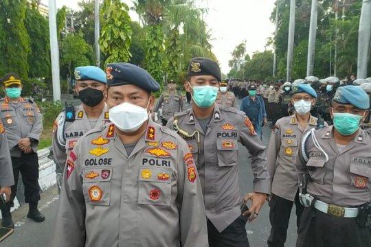 """Polisi usut oknum yang sebarkan brosur """"penjarahan"""" unjuk rasa"""