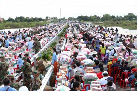 Banjir bandang di Kamboja
