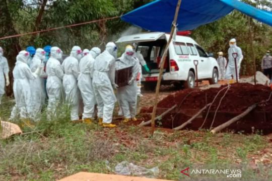 Pasien meninggal COVID-19 di Sultra bertambah jadi 75 orang