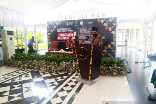 Ponpes Al-Hamidiyah Depok jadi percontohan protokol kesehatan COVID-19