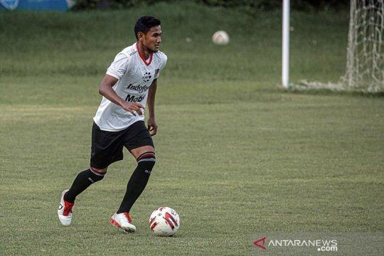 Bek muda Bali United tak sabar unjuk kemampuan di Liga 1