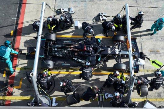 Hamilton dan Mercedes bisa pecahkan rekor di Portugal