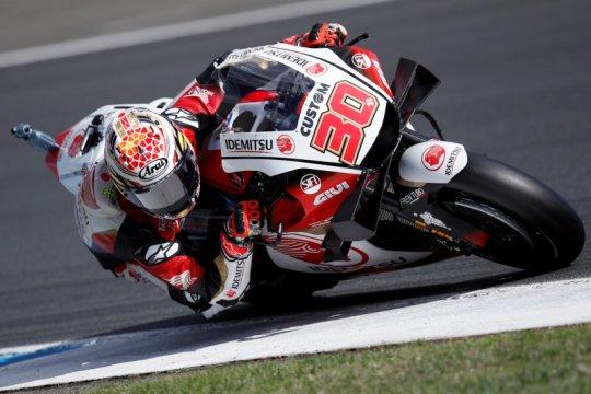 MotoGP Teruel: Nakagami raih pole position perdana
