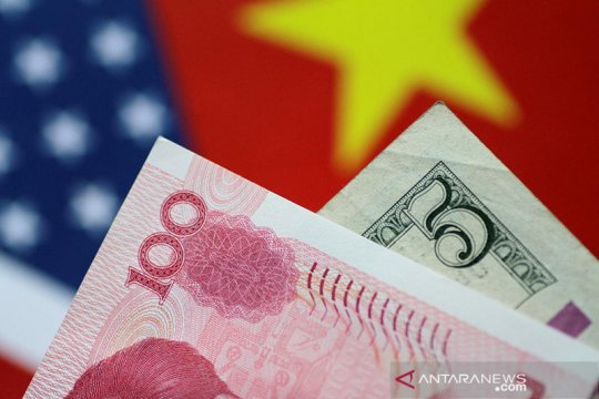 Yuan balik menguat 61 basis terhadap dolar AS