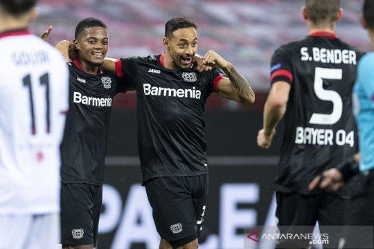 Leverkusen memulai perjalanan Eropa dengan kemenangan 6-2 atas Nice