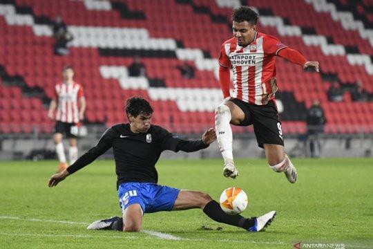 PSV Eindhoven dipermalukan Granada di kandang sendiri