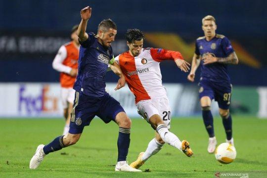 Feyenoord dan CSKA Moscow petik satu poin di Grup K Liga Europa