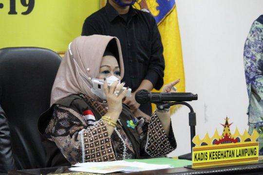 Kasus COVID-19 Lampung bertambah 62, total 1.522 kasus