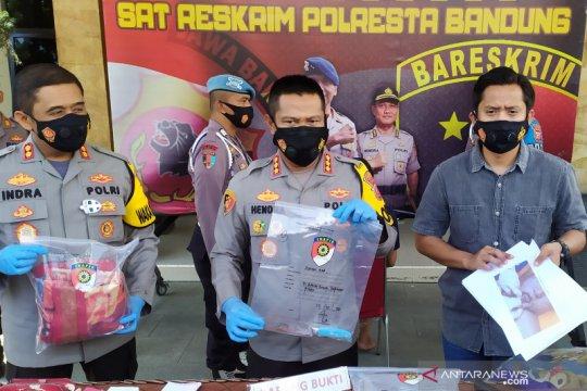 Polisi tangkap pria pembunuh ibu hamil di Bandung