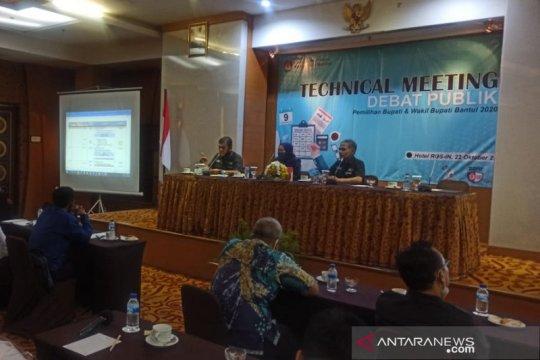 KPU Bantul akan fasilitasi debat publik Pilkada selama tiga putaran