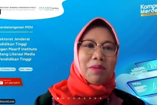 Ditjen Dikti jalin kerja sama dengan Maarif tingkatkan literasi media