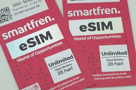 Pesan kartu eSIM Smartfren cukup dari aplikasi