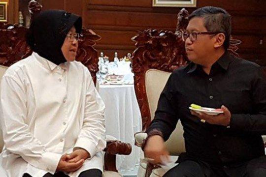 Hasto : Hijaunya Surabaya di tangan Risma akan dilanjutkan Eri Cahyadi