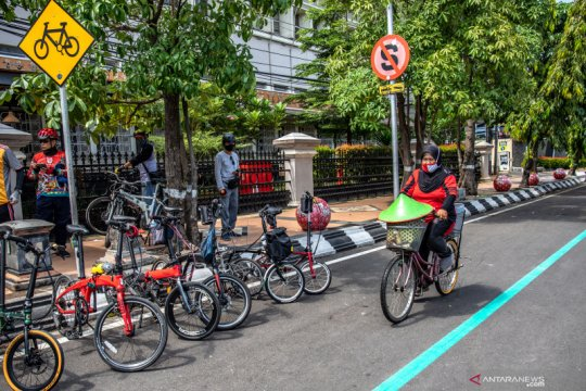 Kemenhub gaet KemenPUPR bangun jalur khusus sepeda di sejumlah kota