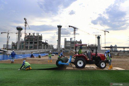 Perkembangan pembangunan Jakarta International Stadium