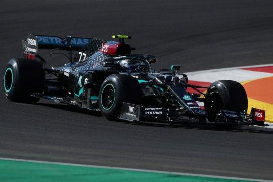 Bottas dominasi sesi latihan GP Portugal, Verstappen tabrak Stroll