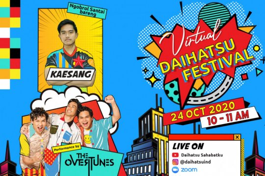 Kaesang akan berbagi tips wirausaha di Virtual Daihatsu Festival