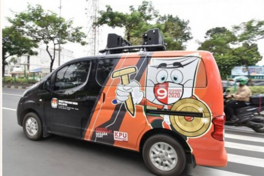 "KPU Depok gunakan mobil ""wowo-woro"" sosialisasikan pilkada"