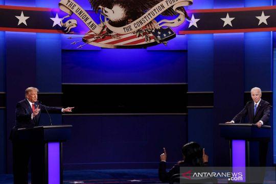 Trump dan Biden beradu dalam debat terakhir Pilpres AS