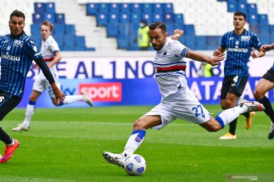 Ditaklukkan Sampdoria, Atalanta telan kekalahan kedua beruntun di liga