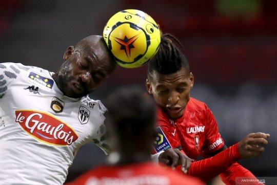 Menang 2-1, Angers paksa Rennes telan kekalahan pertamanya