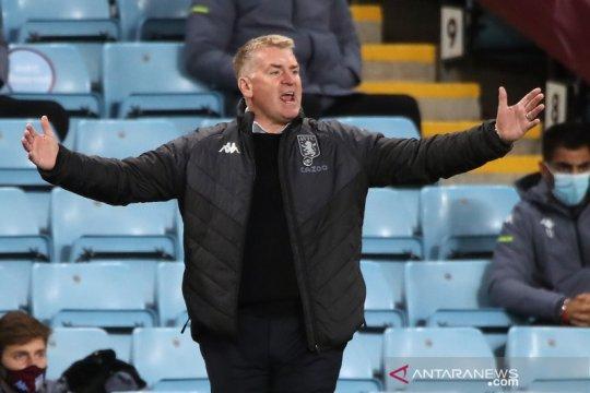 Dean Smith sebut Villa cuma bisa imbangi penampilan Leeds 50 menit