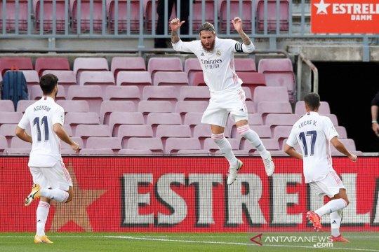 Penalti Sergio Ramos bantu Real Madrid menangi El Clasico