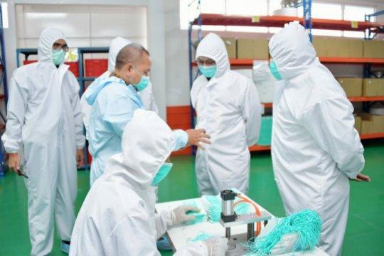 Wamendag apresiasi pabrik di Cimahi akan ekspor produk masker 4-Ply