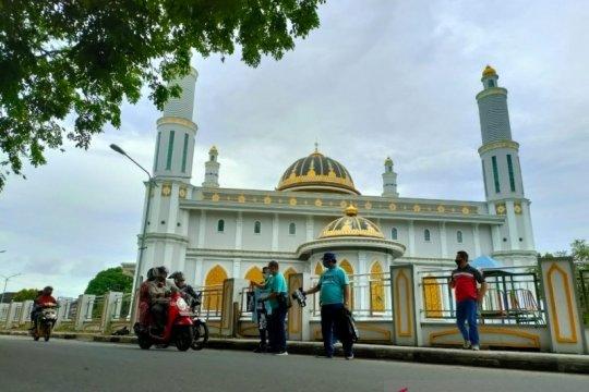 Jasa Raharja-PT PNM salurkan bantuan masker di Bangka Tengah-Babel