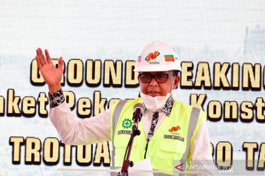 "Jalan Metro Tanjung Bunga digadang-gadang jadi ""landmark"" Makassar"