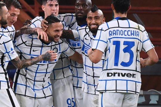 Inter Milan menang dua gol tanpa balas di markas Genoa