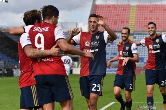 Cagliari kembali raih kemenangan setelah pecundangi Crotone 4-2