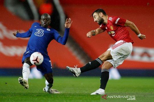 Manchester United dan Chelsea berbagi poin dalam skor kacamata