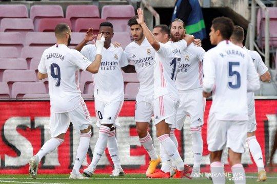 Klasemen Liga Spanyol: Real Madrid kembali ke puncak berkat El Clasico