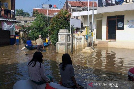 BPBD Jabar: Tiga Dusun di Ciparay Kabupaten Bandung terendam banjir