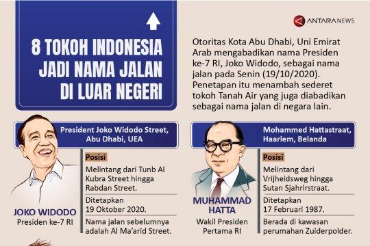 Delapan tokoh Indonesia jadi nama jalan di luar negeri