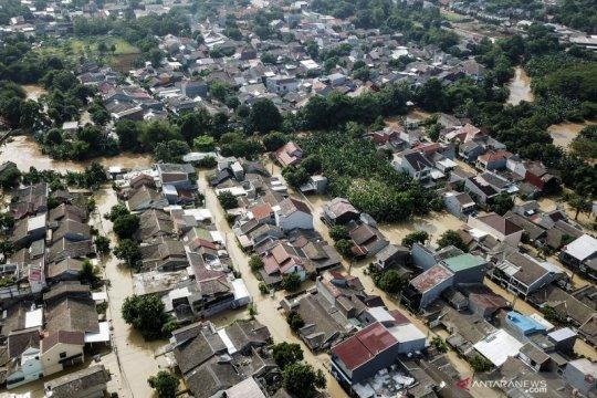 Banjir luapan kali Cikeas